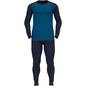 Odlo Active Warm Plus Set speciale Uomo, blu